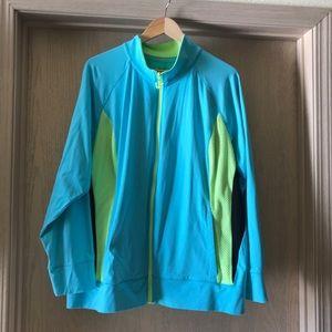 Lane Bryant Athletic Jacket.